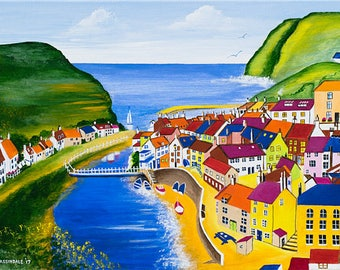 Staithes Beck - Prints & Cards