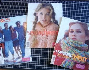 Set of 3 catalogs - knitting - clothing special twenty