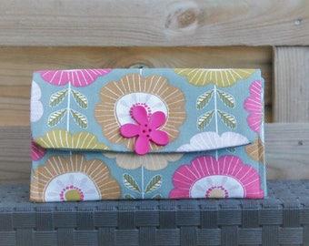 Spring flower wallet for spring