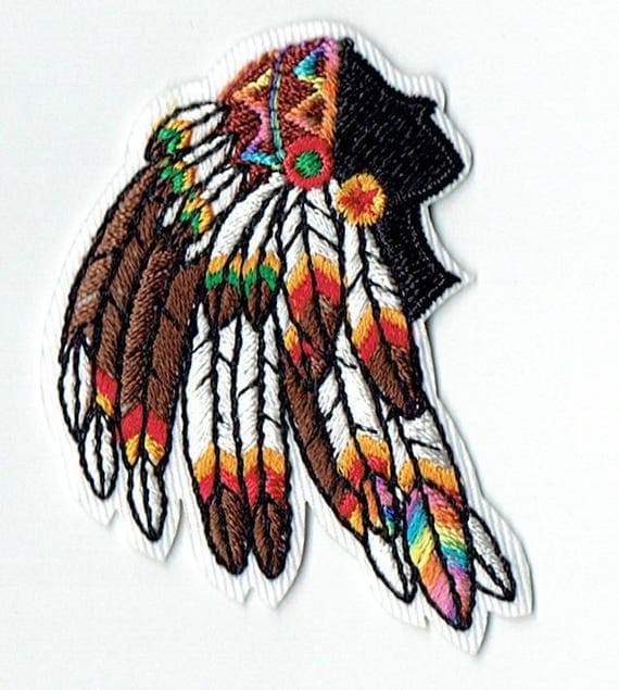 """Patch fusible trend pattern """"Indian"""""""