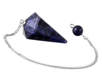 Pendulum faceted sodalite