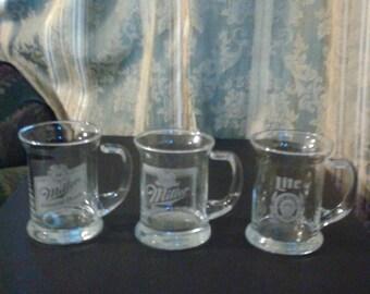 3 MGD vintage coffee mugs
