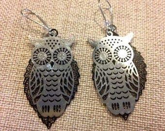 Owls are your earrings