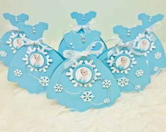 Invitation birthday / ice Queen / Elsa