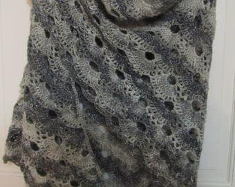 Glitzy Triangle Shawl