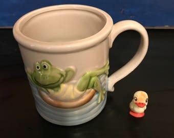 Vintage Frog Mug