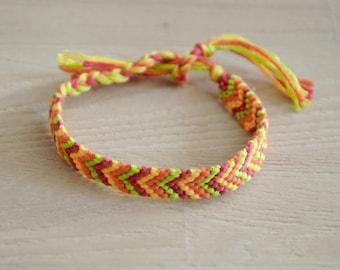Friendship Bracelet, friendship, chevron, woven bracelet, macrame