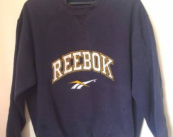 Reebok spell out sweatshirt