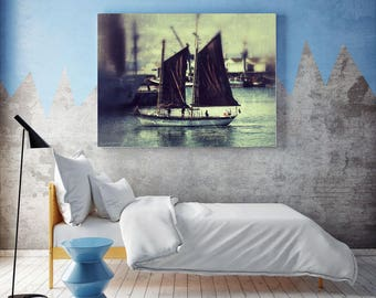 Canvas Print |  I am Sailing, Cape Town, South Africa | Printable Wall Art | Canvas Wall Art | Canvas Wall Hanging
