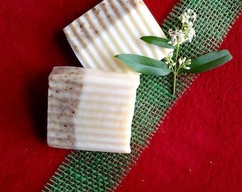 Rice bran oil coconut oil SOAP Handgesiedet vegan