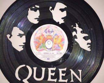 Queen Vinyl Art