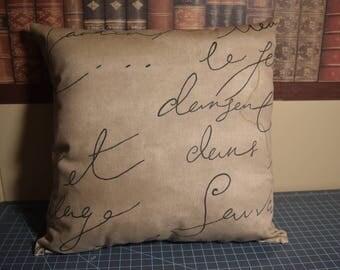 Pen Pal Collection Single Pillow