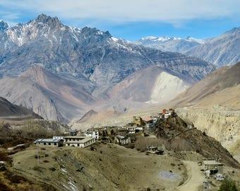 Muktinath in the Himalayan Mountains