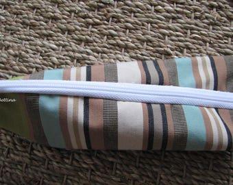 Shape, schoolboy striped carton package