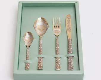 Personalised cutlery set, customised knife, spoon, teaspoon, fork. personalized knife, custom gift, wedding gift Idea, Engraved knife