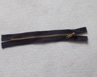 4 black metal slide fasteners