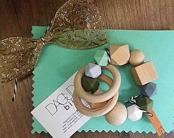 Massage-Natural wood gums not impregnated-gift idea Bimbi!!!
