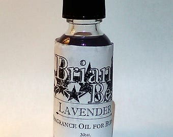 Lavender Scented Incense or Fragrance Oil Formulated for Burners or Warmers - Premium Grade & Quality!