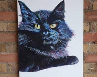 A4 Pet Portrait canvas painting