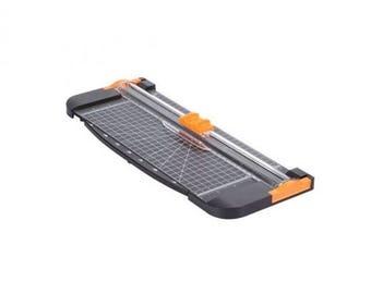 Massicot portable 30cm avec lame Scalpel / Cutter de Précision triangle - 2 lames de rechange - pied anti-dérapant cisaille
