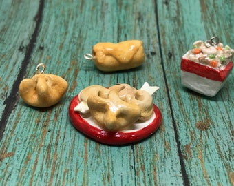 Chinese Food Charms