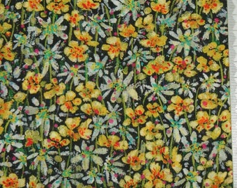 "Coupon - 45cm x 68cm Liberty of London fabric - multicolor ""Eleanora""."