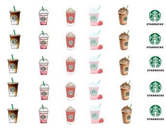 Starbucks Drink Stickers