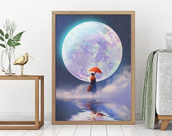 Poppins - art print - poster - fine art - A1 - limited edition