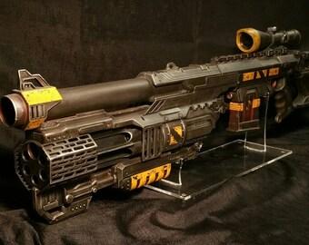 Futuristic scifi blaster