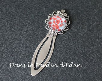 "Metal bookmark ""medley of poppies"""