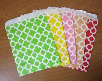 Set of 18 paper gift bag x 13 cm
