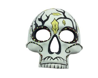 Day of the Dead Full Face Branches Mask Dia de los Muertos