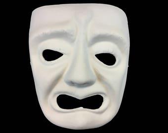 DIY Do it Yourself Sad Joker Mask Masquerade Adult Halloween