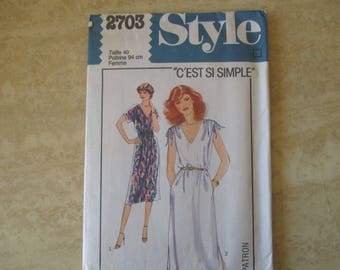 dress size 40 McCall pattern ' S