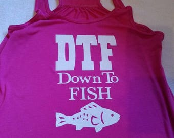 Down to Fish heat transfer vinyl