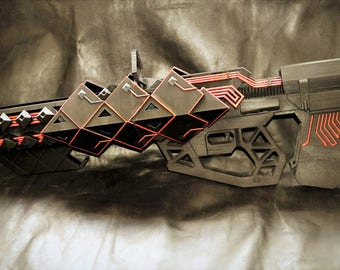 Outbreak Prime 3dprinted rifle from destiny cosplay replica