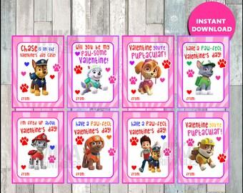 Paw Patrol Valentine Printable