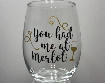 Stemless Wine Glass 21oz
