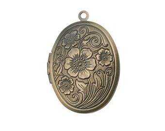 Oval Perfume Locket