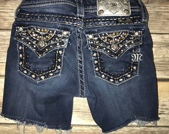 Size 10 Distressed Shorts