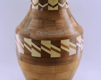 Segmented Vase # 134