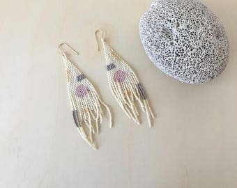 Mai   Handmade beaded earrings