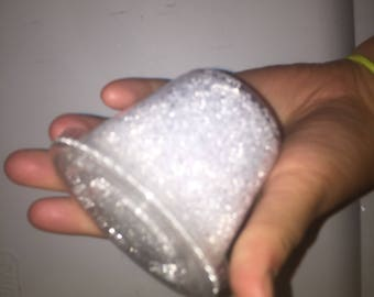5.5 oz of snowcone beads for slime