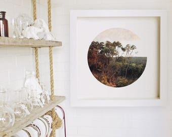 Australian | Landscape | Eagle Bay | Digital Painting | South West | Art Print | Western Australia | Nature | Sunset | Illustration