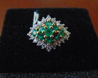Costume Emerald Ring