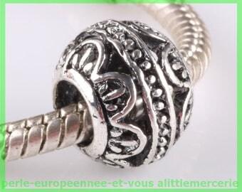 N602 European spacer bead for bracelet charms