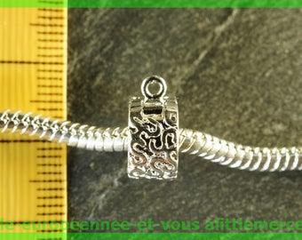 N11 clip stopper European bead for bracelet charms blocker bail
