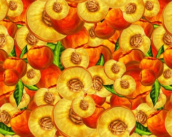 SEMI RIGID ORIGINAL PLACEMAT. FOOD DECORATION. Peach flesh. Classic version.