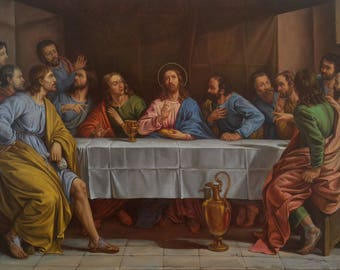 The Last Supper Etsy
