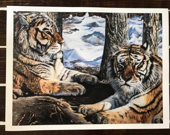PRINT The 2 Tigers